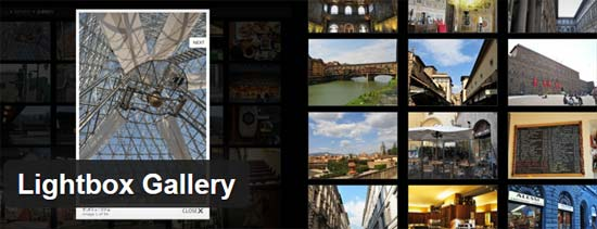 Lightbox WordPress Gallery plugin