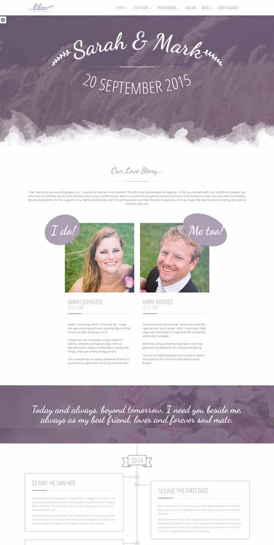 Lilac-HTML5-Wedding-Template