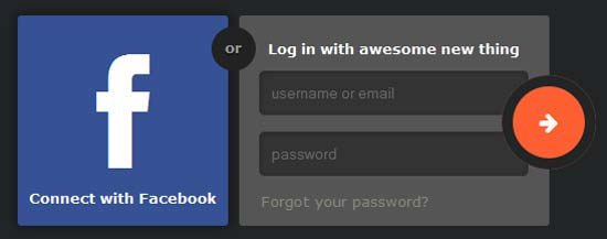 Log-in-Form-Connect-with-Facebook