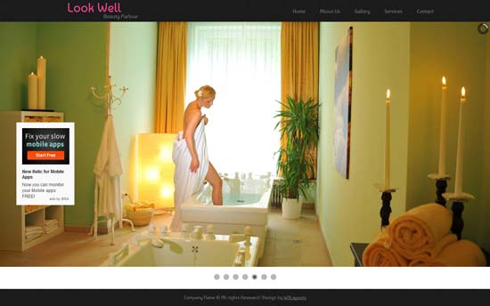 Look Well - Free Responsive Beauty Salon Website Template