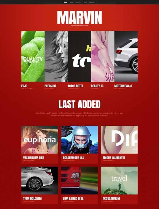 MARVIN-Design-Studio-Responsive-Website-Template