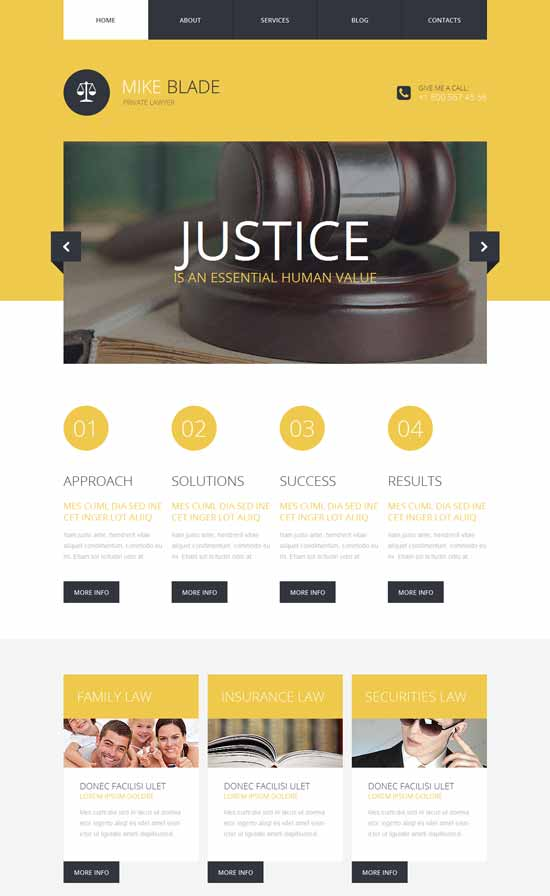MIKE-Lawyer-Responsive-Website-Template