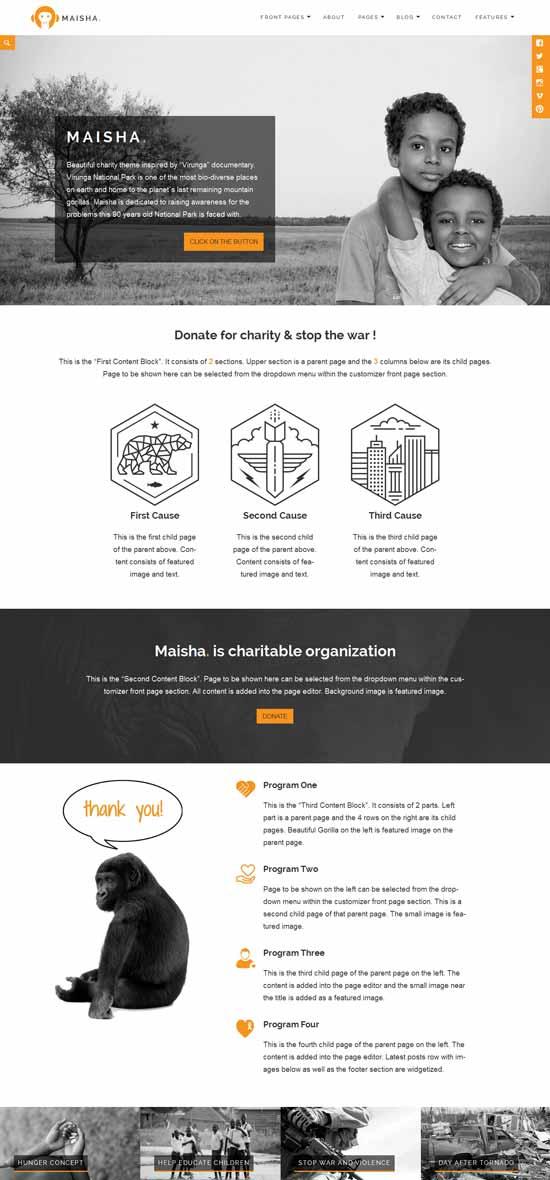 Maisha-CharityNon-Profit-WordPress-Theme