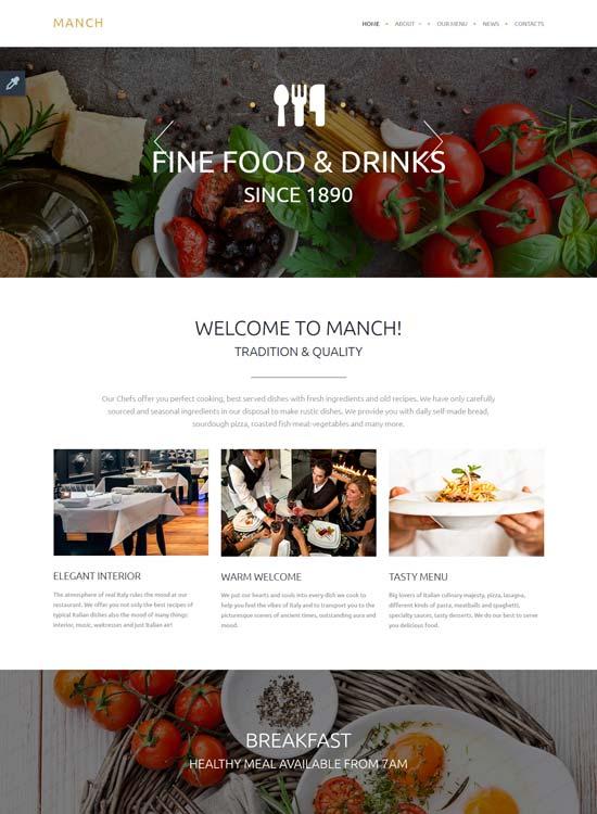 Manch-website-template