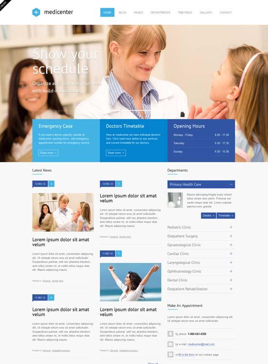 MediCenter-Responsive-Medical-Health-Template