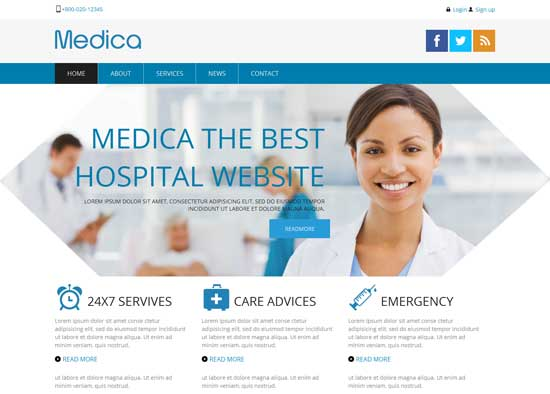 Medica-Free-Hospital-Website-Template