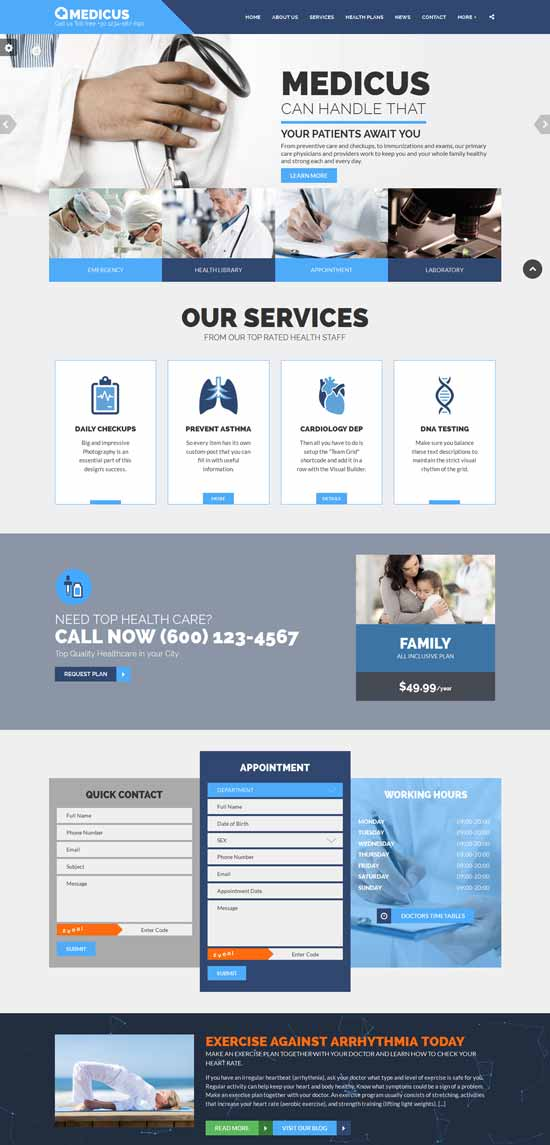 Medical-Business-HTML