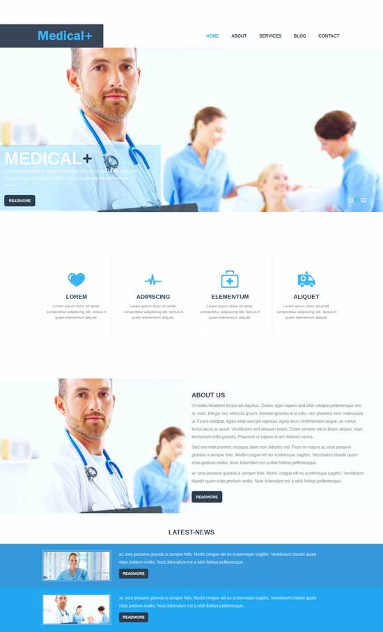 Medical-Pluse-Medical-Responsive-template