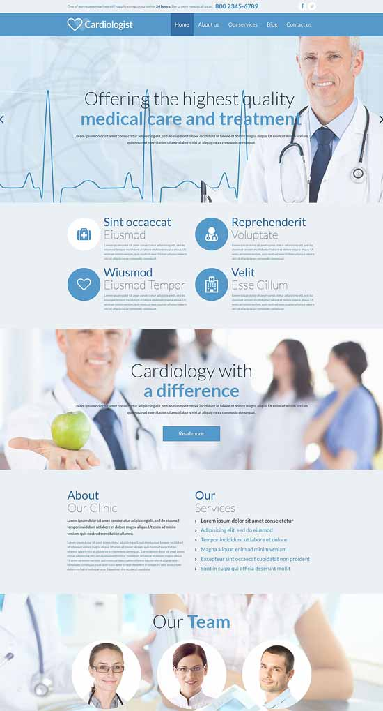 Medical-Responsive-Website-Template-Cardiologist