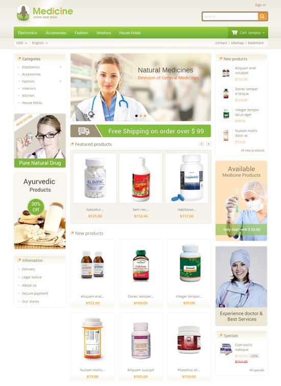 Medicine-Pharmacy-Prestashop-Theme