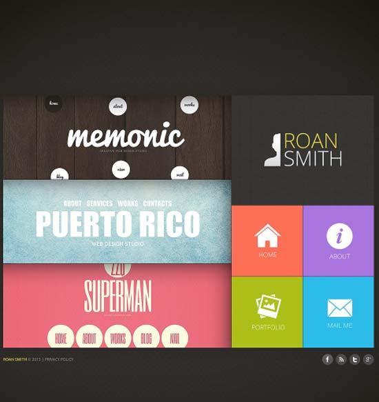 Memonic-Designer-Portfolio-Website-Template
