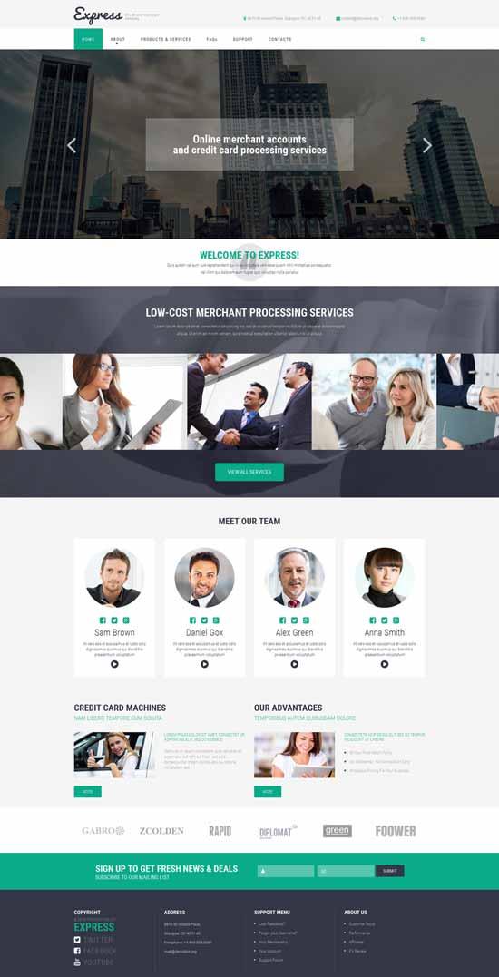 Merchant-Services-Website-Template