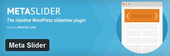 Meta-Slider-Free WordPress Slider Plugins