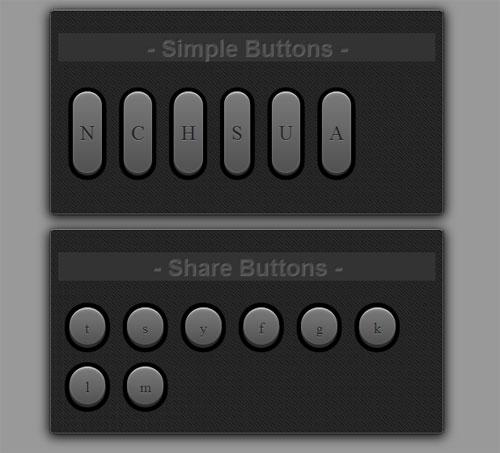 Metal-UI-Buttons