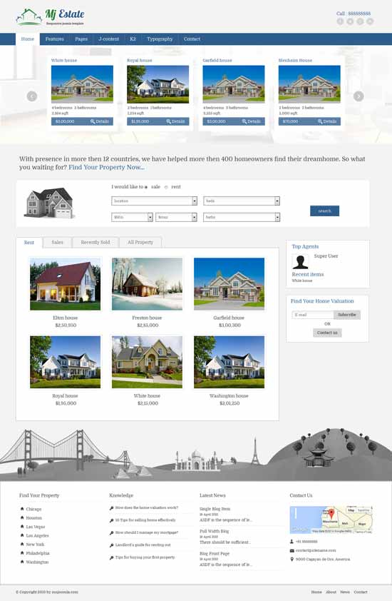 Mj-Real-Estate-Joomla-Template