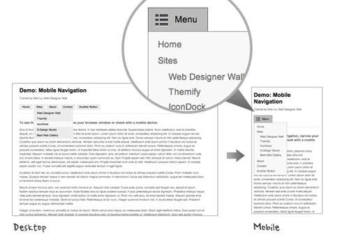 Mobile Navigation Design