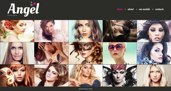 Model-Agency-HTML5-Website-Template