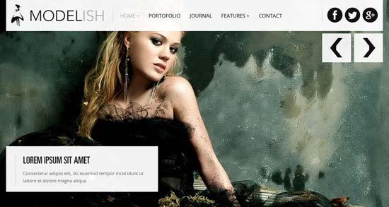 Modelish-HTML5-Site-Template