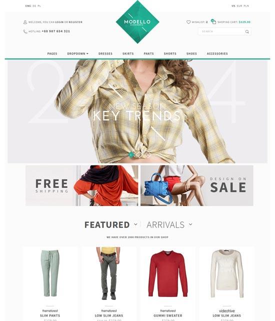 Modello-Responsive-eCommerce-Template