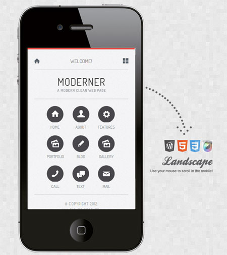 Moderner-Mobile-Retina-WordPress-Version