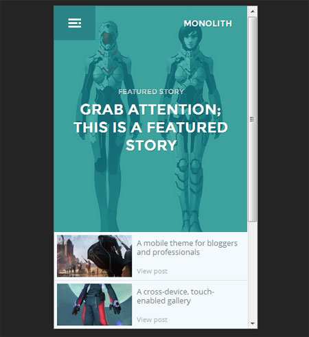 Monolith-WP-theme-for-bloggers-and-professionals