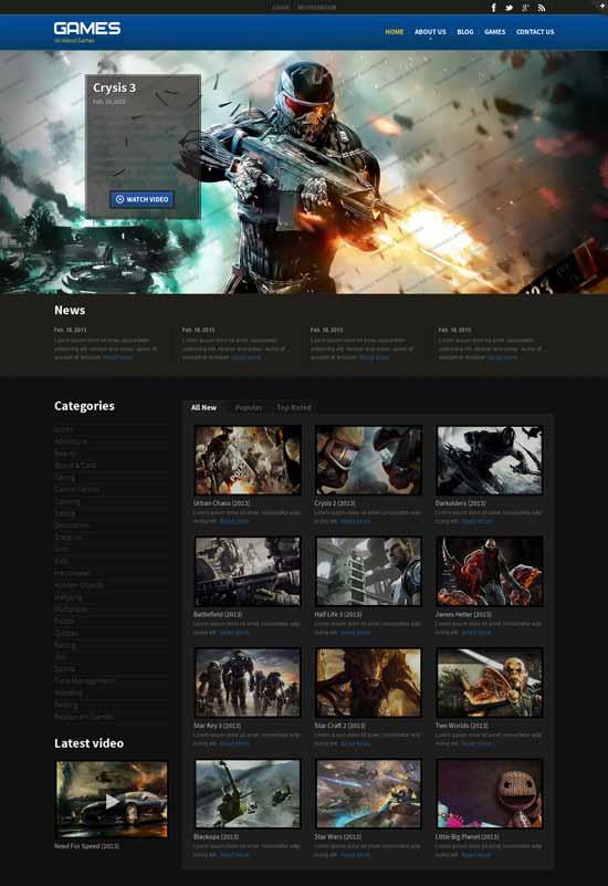 Mooter-Games-Responsive-Website-Template