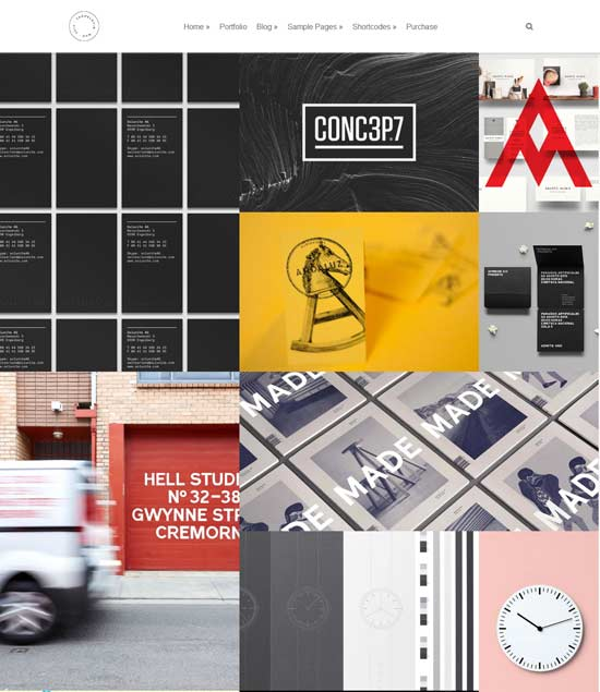Mug-Clean-Creative-Multipurpose-Grid-Portfolio