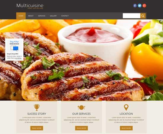 Multicuisine-Free-Responsive-Restaurant-Website-Template