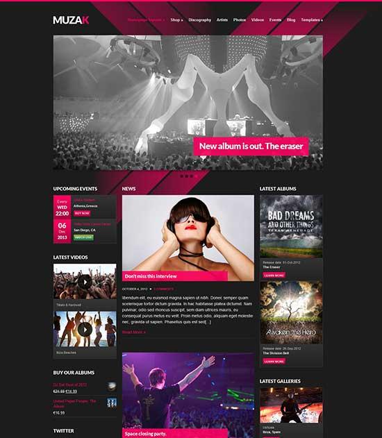 Muzak-Music-Premium-WordPress-theme