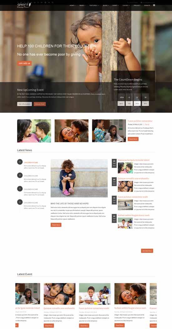NGO-HTML5-Template