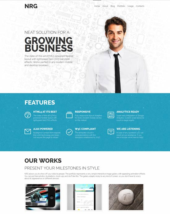 NRG-Responsive-Business-HTML-Template