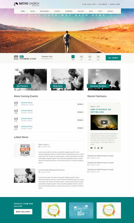 WordPress Church Themes