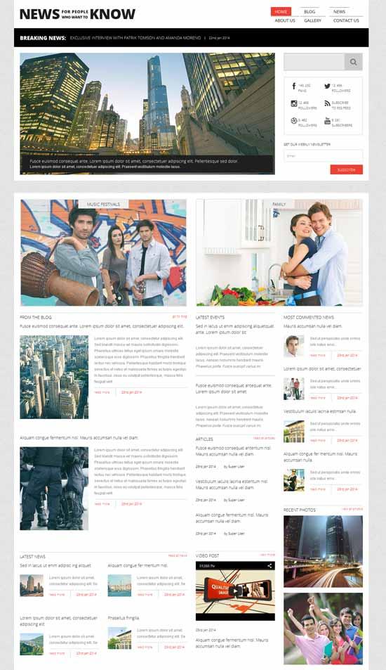 News-Responsive-Joomla-Template