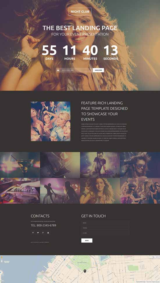 Night-Club-Responsive-Landing-Page-Template