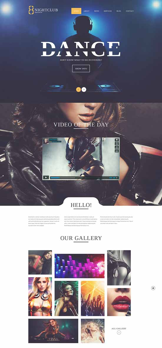 NightLife-WordPress-Theme