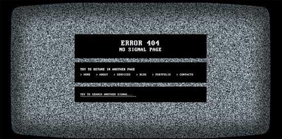 No-Signal-404-Error-Page