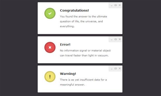 Notification-Windows