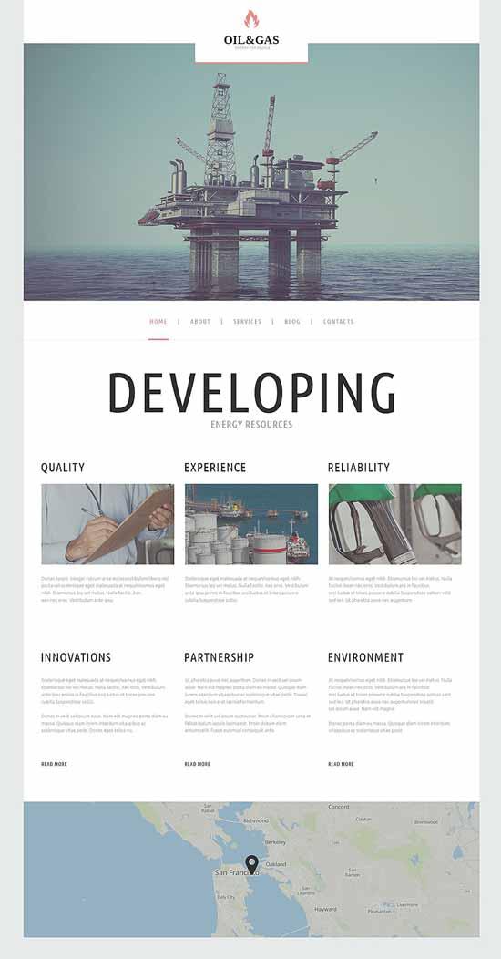 Oil-Gas-Company-WordPress-Theme