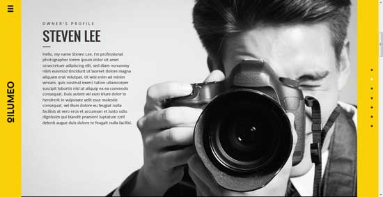 Oilumeo-Photography-Website-Template
