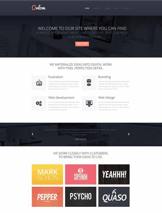 Oulom-Design-Studio-Responsive-Website-Template