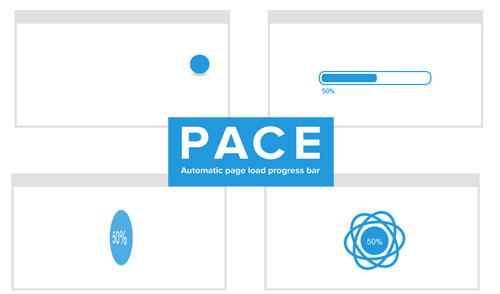 Pace-automatic-web-page-progress-bar