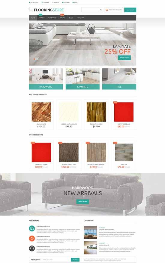 Parquet-Online-Store-WooCommerce-Theme