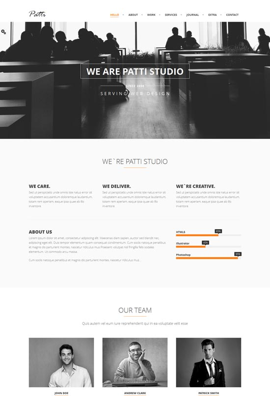 Patti-Parallax-One-Page-HTML-Template