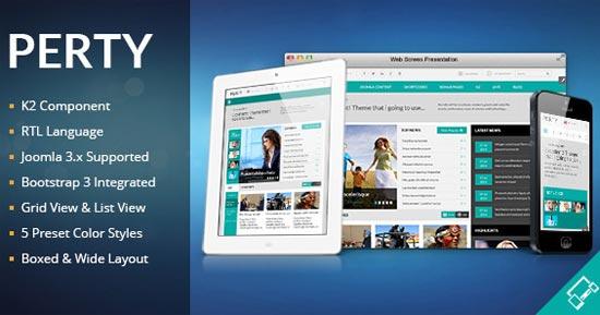 Perty-Responsive-News-Magazine-Joomla-Template