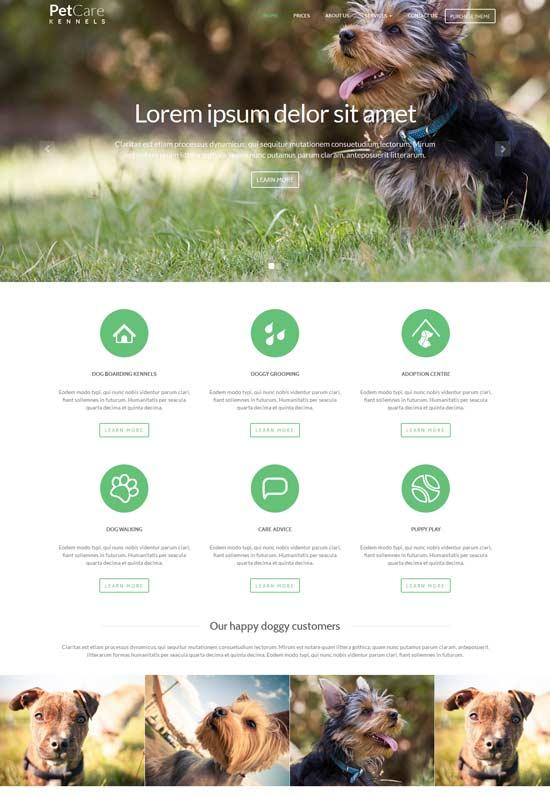 Pet-Care-Dog-Kennels-HTML