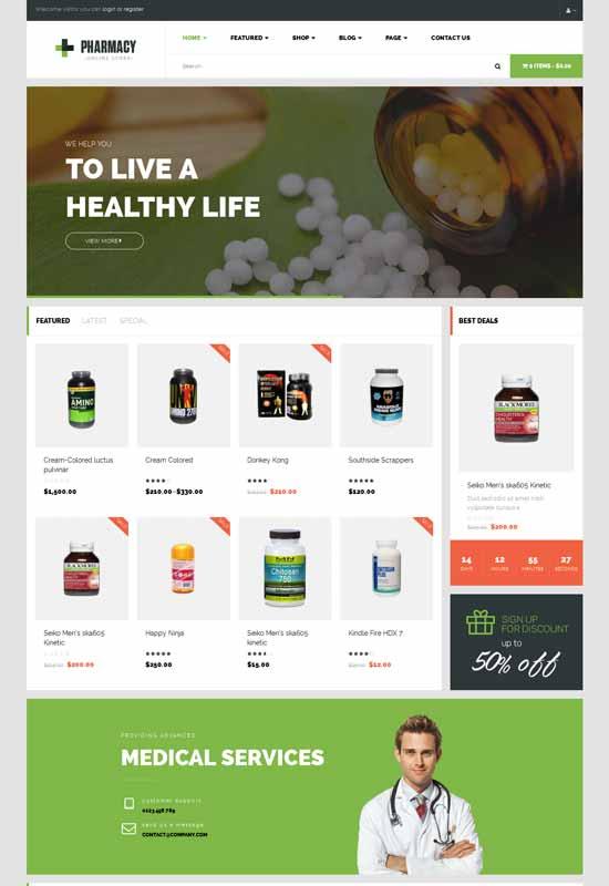 Pharmacy-WooCommerce-WordPress-Responsive-Theme
