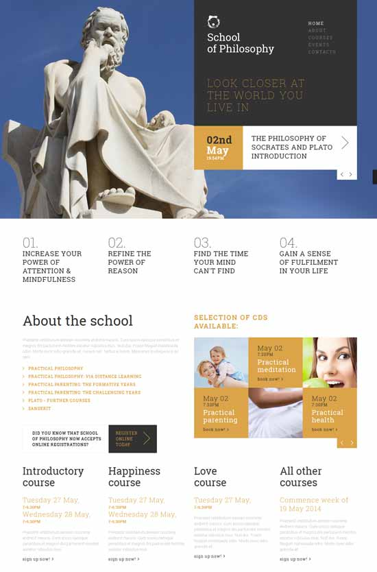 Philosophy-school-joomla-template