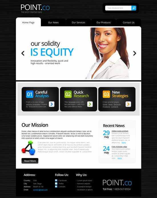 Point-Free-Consulting-Website-Template