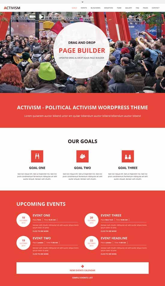 Political-Activism-WordPress-Theme