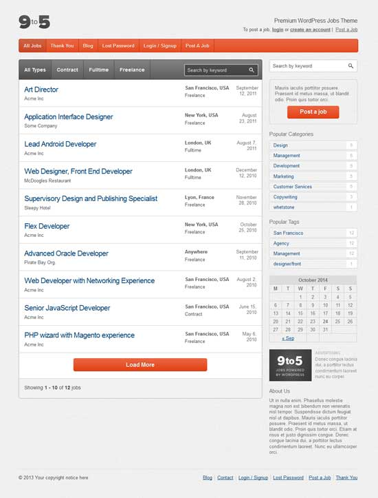 Premium-WordPress-Jobs-Theme